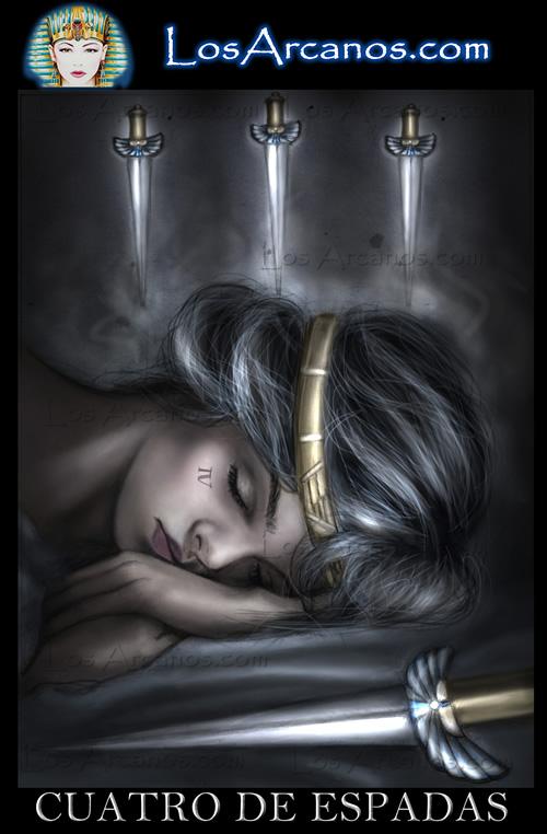 tarot cuatro de espadas